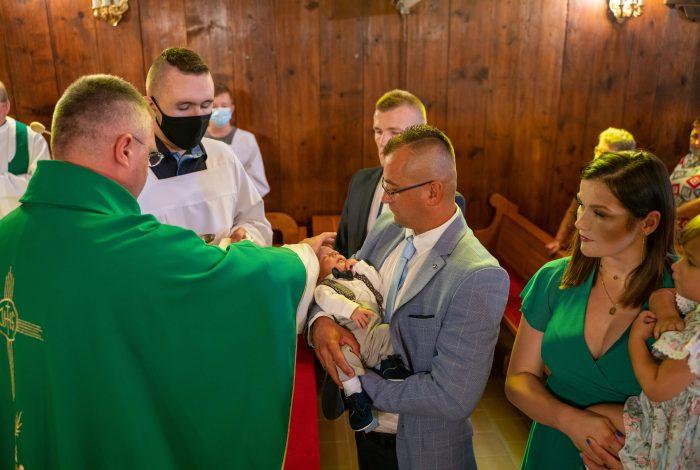 Chrzest Święty Ignacego